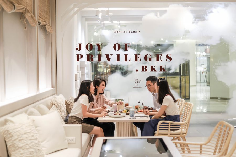 Joy of Privileges in BANGKOK