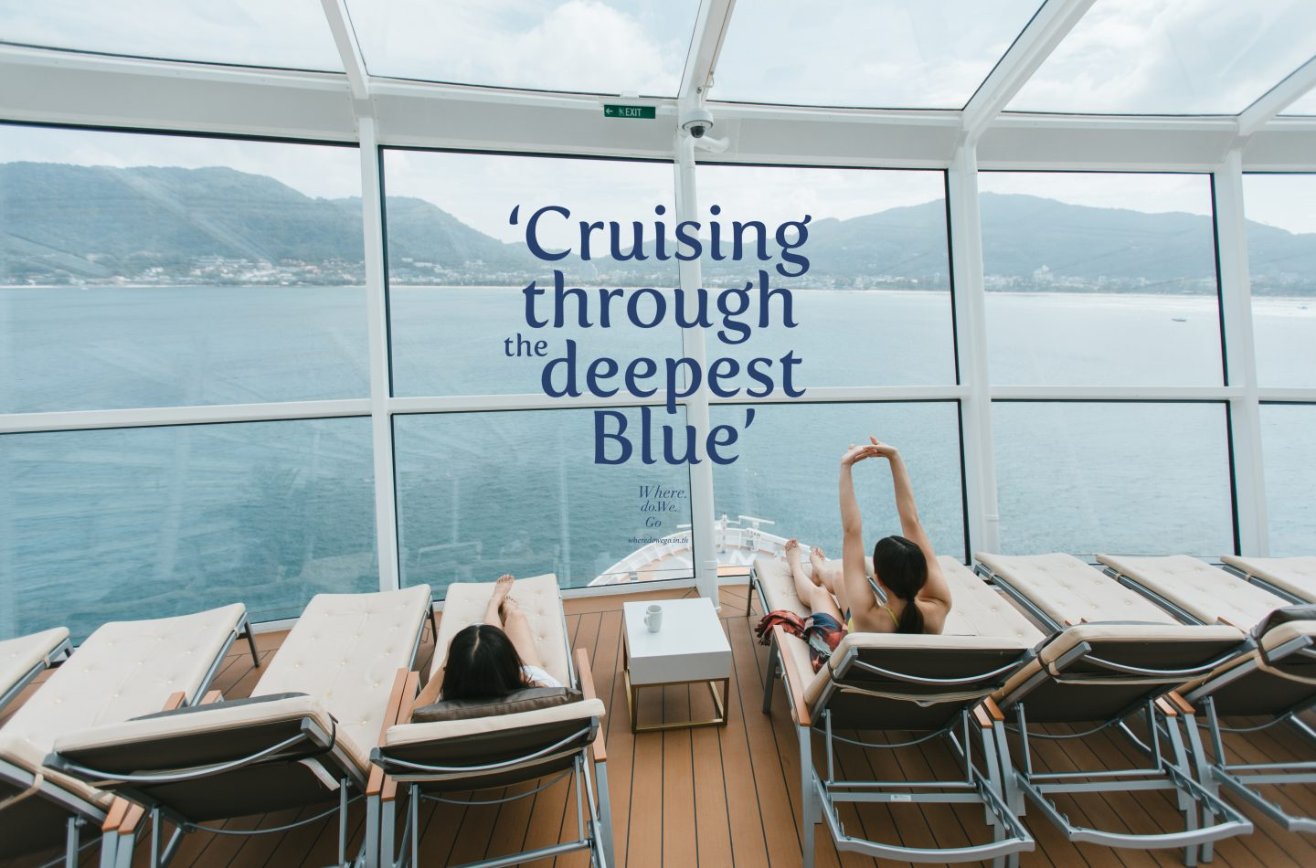 Cruising Through the Deepest Blue.