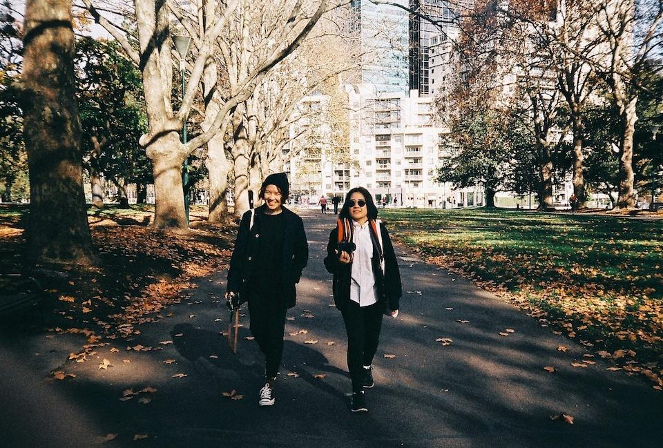 Steps in Melbourne