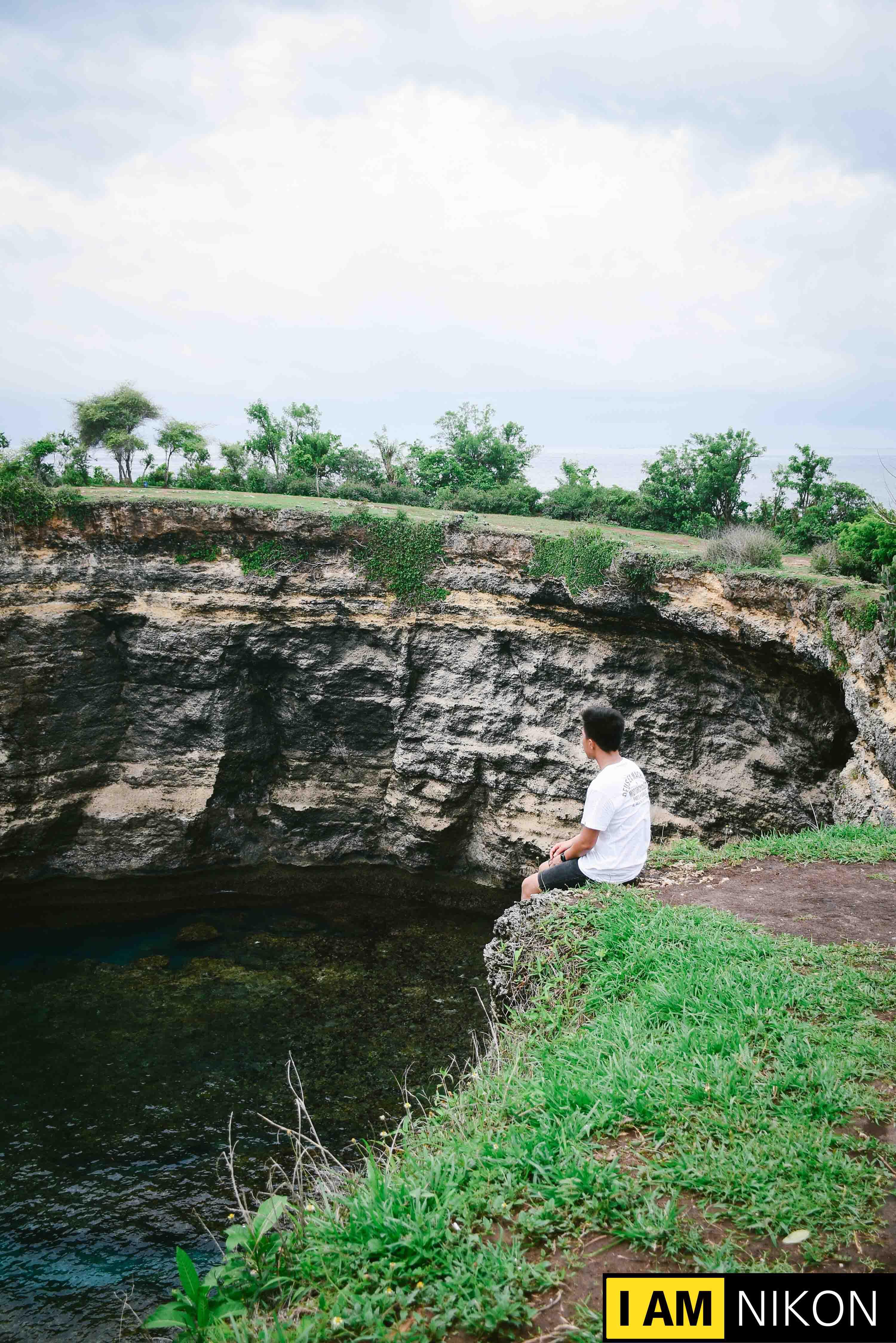 SURREAL Landscape in Nusa Islands, Indonesia.
