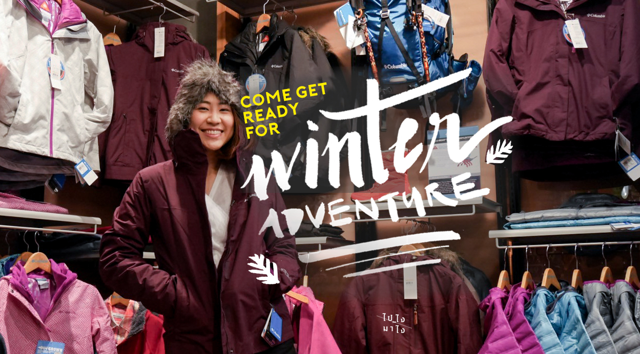 Come Get Ready!, For Winter Adventure