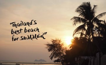 Thailand's best beach for SUMMER!