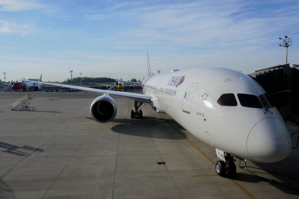 ชมโรงงาน Boeing พร้อมพาเครื่องการบินไทยลำใหม่กลับกรุงเทพ!