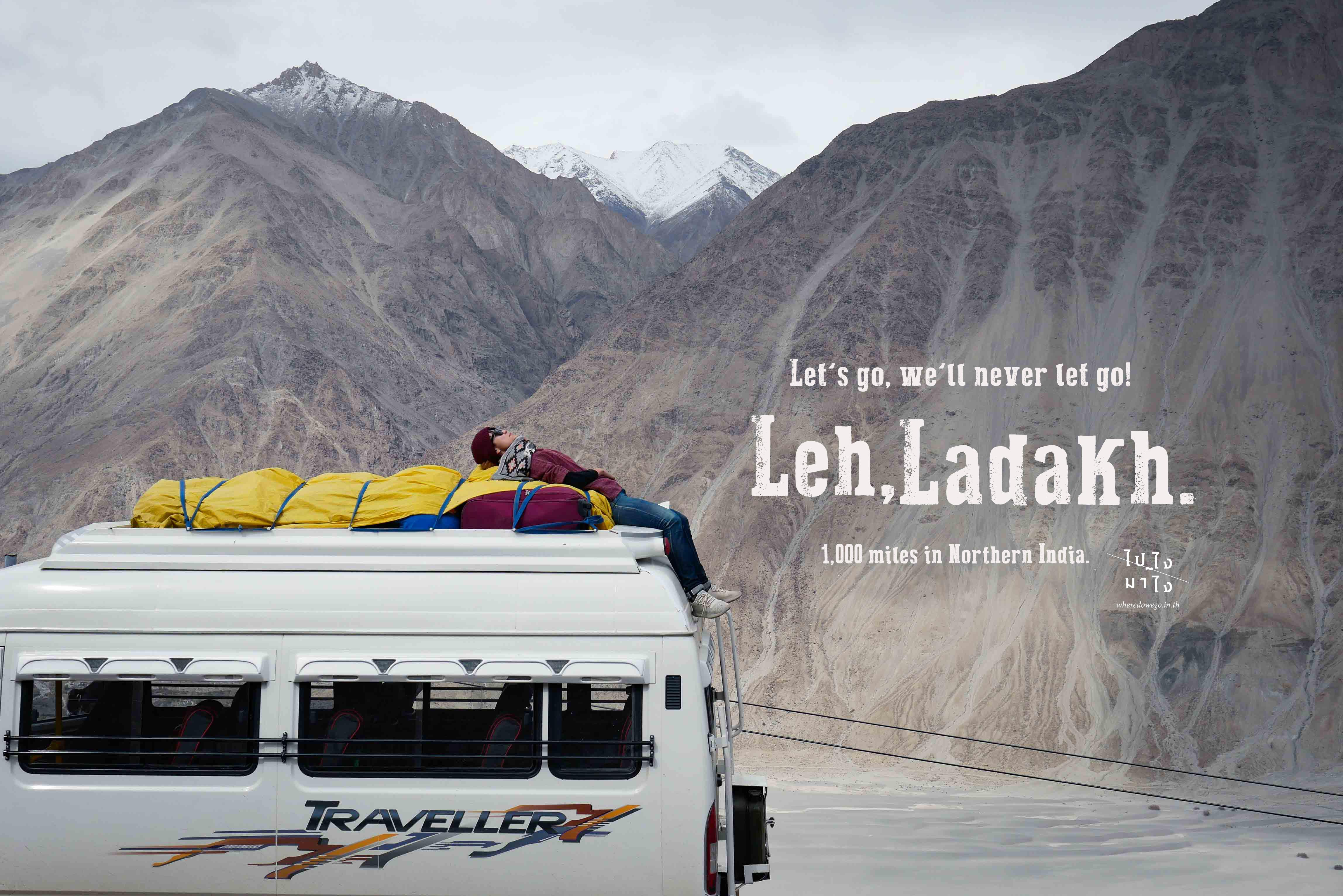 Julley! Here we are Leh Ladakh