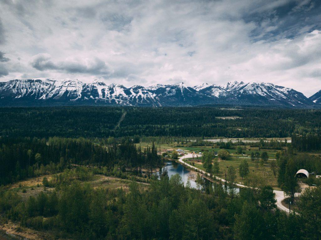en route Canadian Rockies!