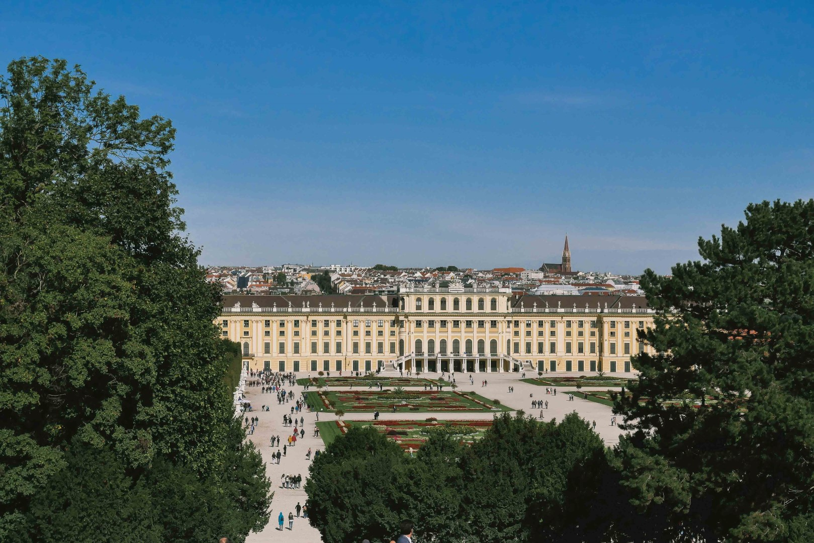 Details of Vienna, Austria.