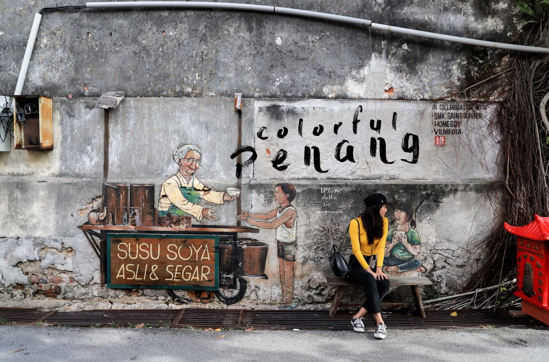 Colorful in PENANG,Malaysia