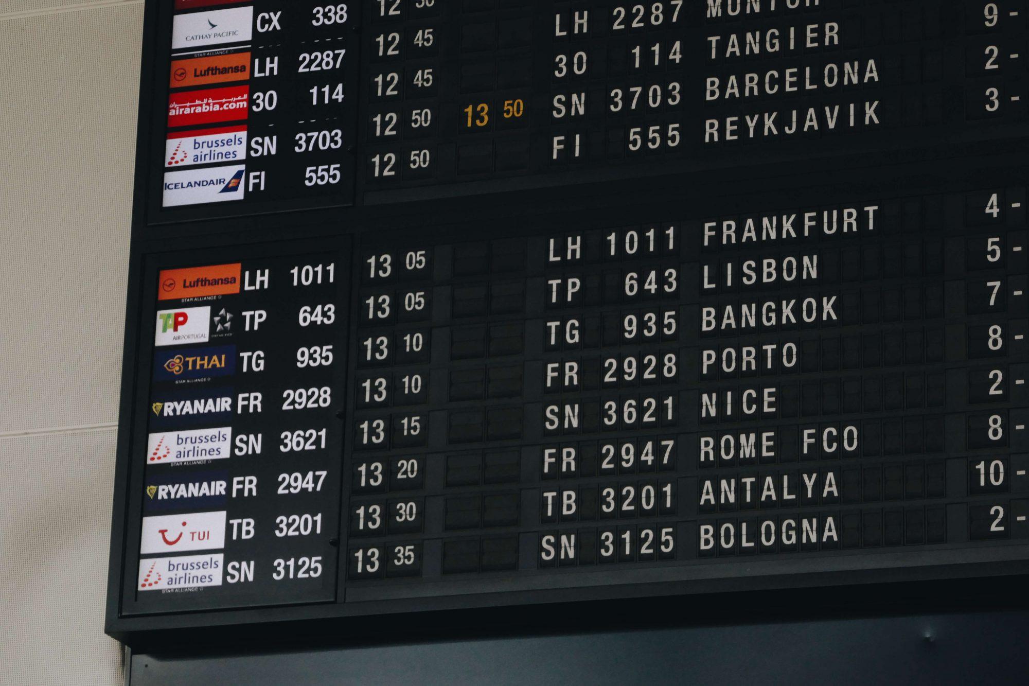 I FLY THAI TO BARCELONA, SPAIN