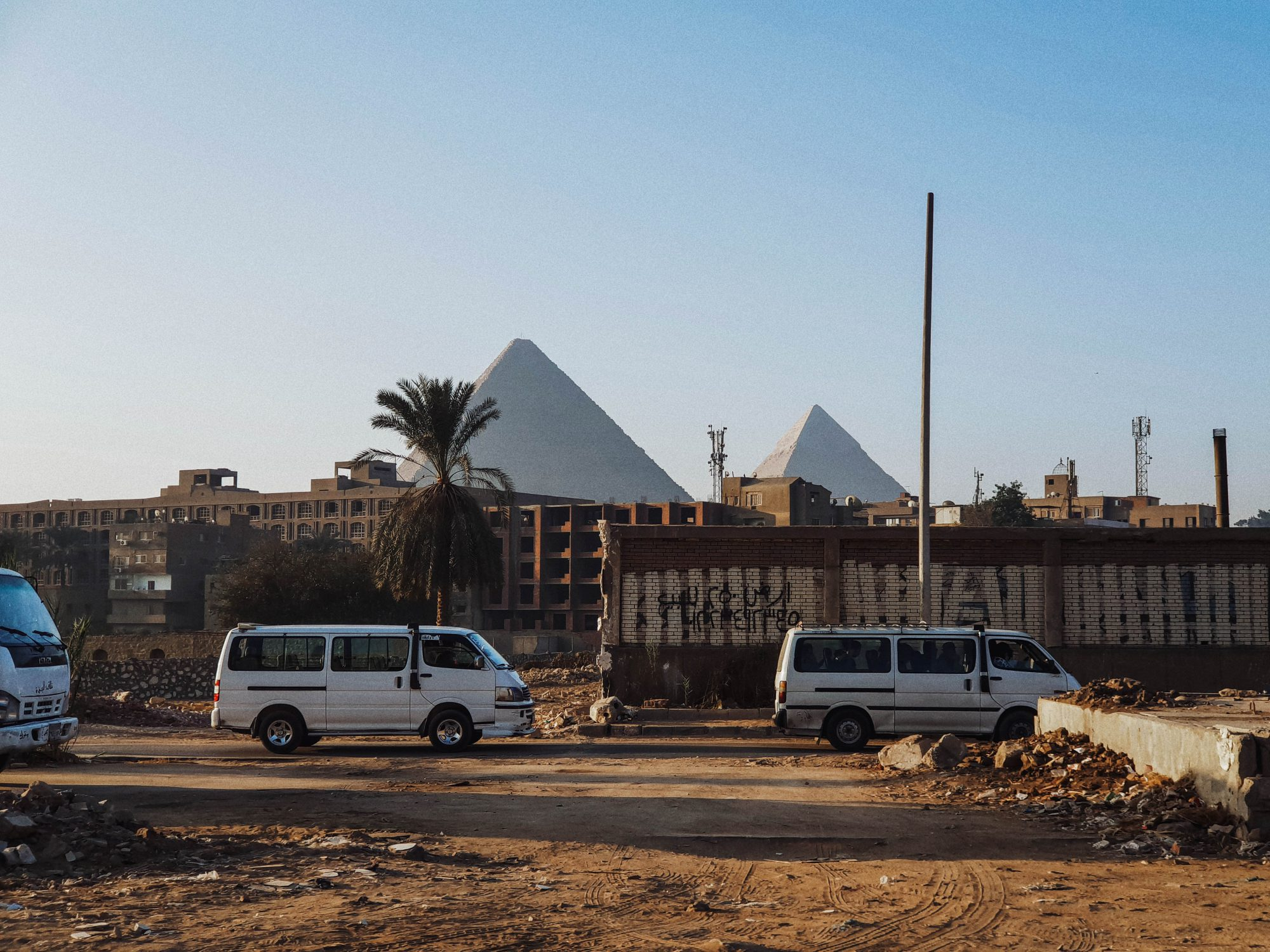 The Historic Points of Egypt.