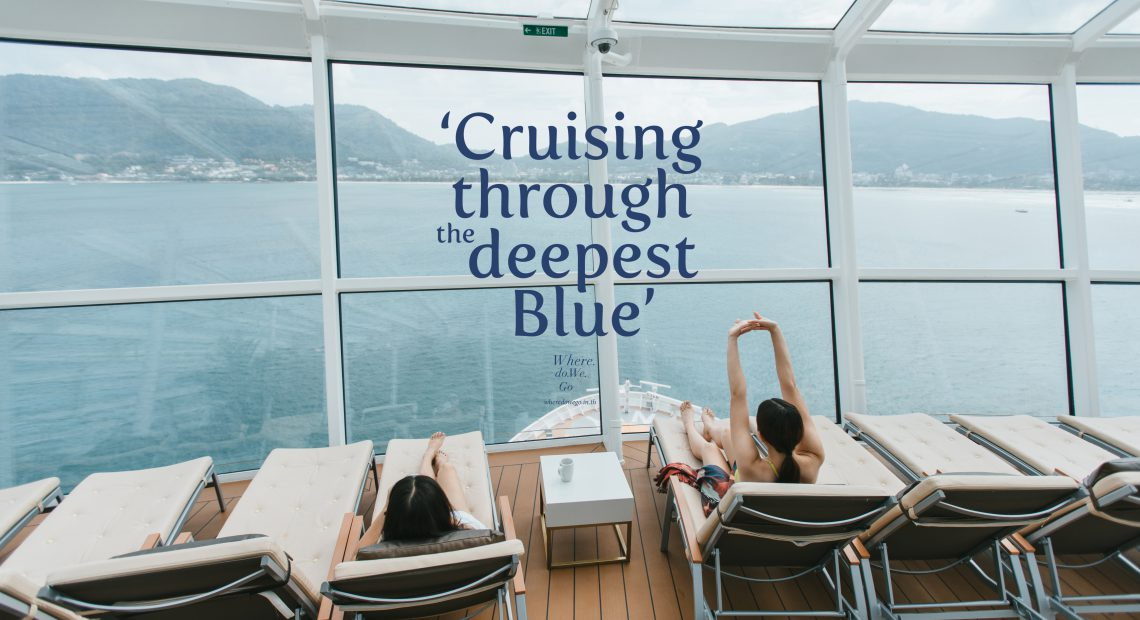 Cruising Through the Deepest Blue.