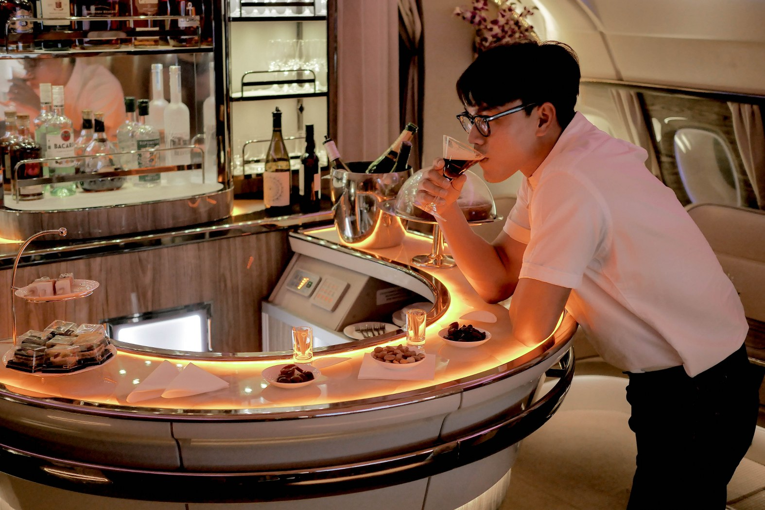 The Business of Living : Emirates A380 Business Class Review.