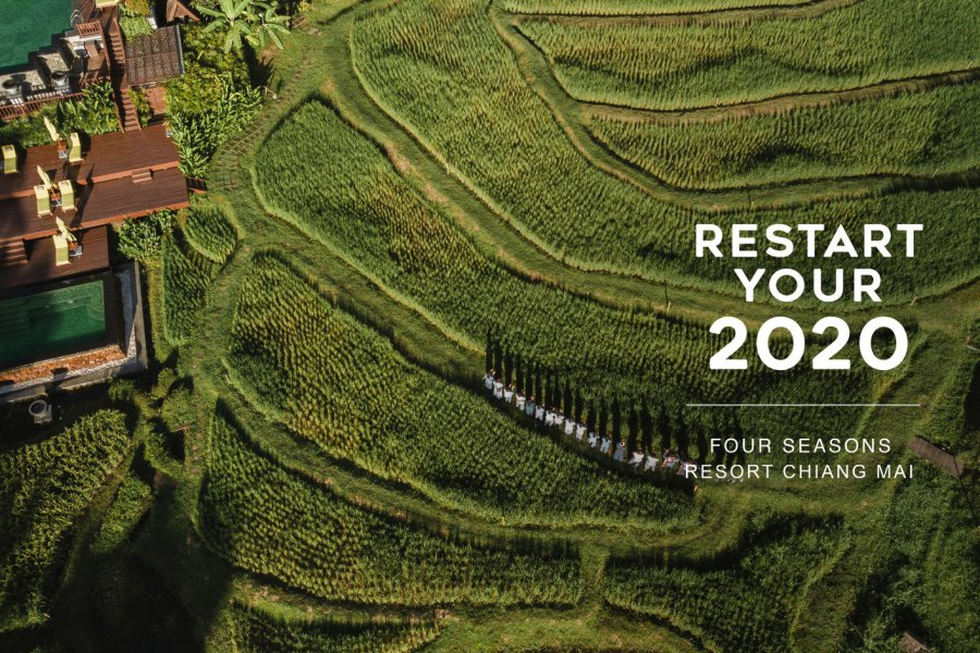 Restart your 2020, Four Seasons Resort Chiang Mai.