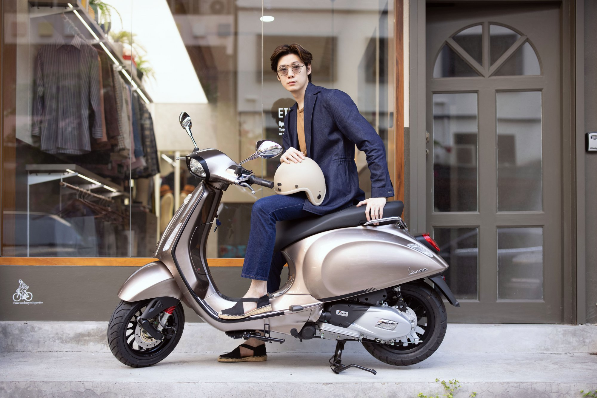 'Be a Trendsetter' with Vespa Sprint S 150 i-Get ABS (TFT)