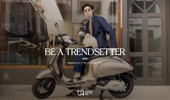 'Be a Trendsetter' with Vespa Sprint S 150 i-Get ABS…